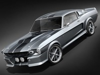 Ford Mustang GT500 Shelby Cobra Eleanor Classic