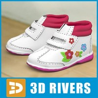 Kids shoes 22 by 3DRivers