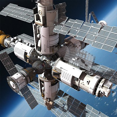 us shuttle joins russian space station - photo #47