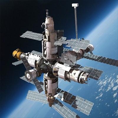 inside space station model - photo #30