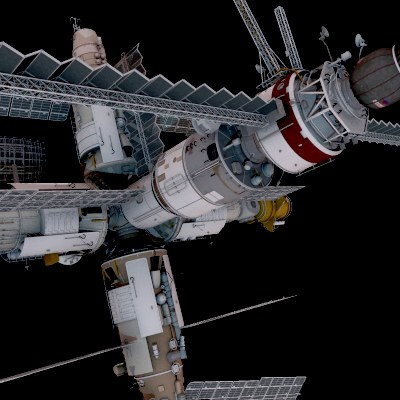 Mir space station 3d model for Space station 13 3d