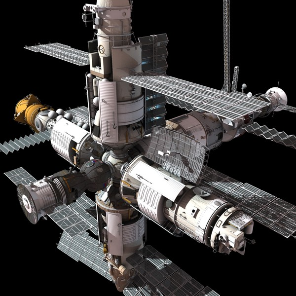 space station 3d models - photo #48
