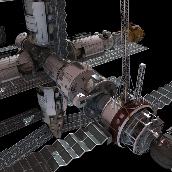 space station 3d models - photo #25
