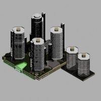 detroit renaissance center 3d model