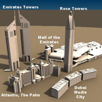 Dubai Building Set