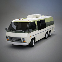gmc motorhome short 3d 3ds