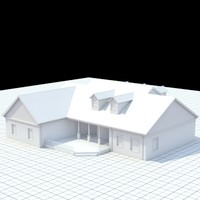 highly detailed single-family house 20
