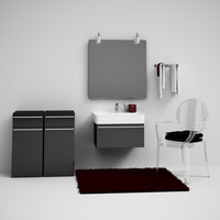 CGAXIS bathroom set 01