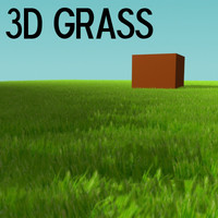 grass particle 3d max