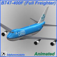 B747-400F KLM Cargo