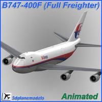 B747-400F Malaysia Air Kargo