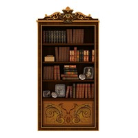 Citterio - bookcase with books