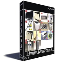 home electronics v5 3d 3ds