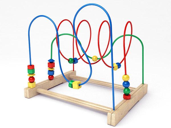 Bead Roller Stand Mula Bead 3d Model Ikea Roller