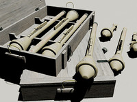 WWII German Panzerfaust 60 in crate