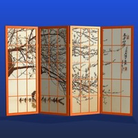 FR Japanese Fisherman Room Divider