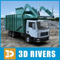 Front loader by 3DRivers