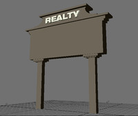 monument sign 3d lwo