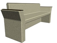 free max model stone bench