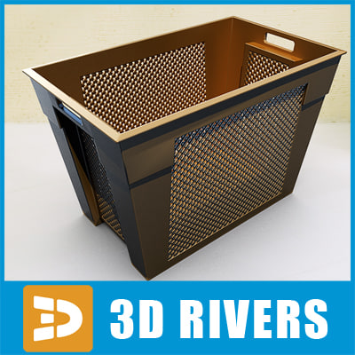 Plastic container 03 by 3DRivers