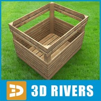 3d model box storage 3dr120