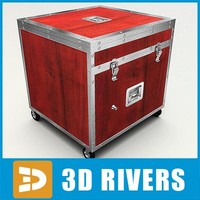 3ds max red box