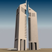 3d emirates towers model