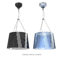 3d kartel hanging lamp model