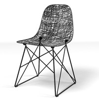 moooi carbon chair 3d model
