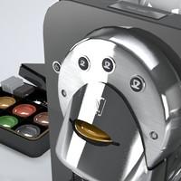 3ds max coffee cup nespresso espresso