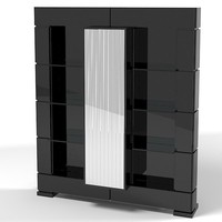 3d smania executive bookcase