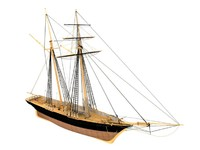 3d scottish maid clipper ships model