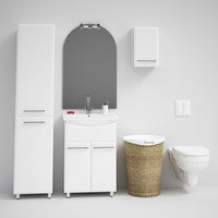 CGAXIS bathroom set 02