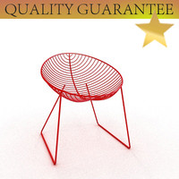 3d leaf lounge chair arper