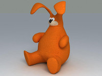 toy bunny 3d model
