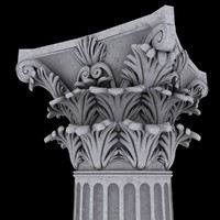 corinthian column capital max