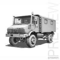 Mercedes Benz Unimog - Belgian Ambulance