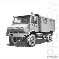 - unimog mercedes 3d model