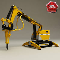 Brokk Remote Controlled Demolition Machine