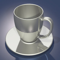 Cup and Saucer.3dm.zip