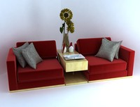 Emperors Couch - Vray