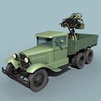 Maxim M4 GAZ-AAA mount