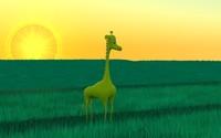 Mostiga spotless giraffe