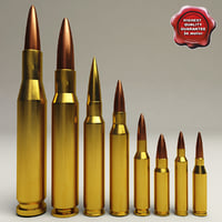Rifle Cartridges Collection
