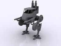sentinels walkers 3d model