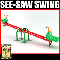 dxf see-saw swing