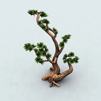 bonsai tree 3d max
