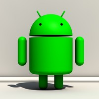 android os 3d model