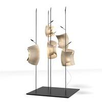 ingo mauer mahbruky floor lamp designer modern contemporary paper