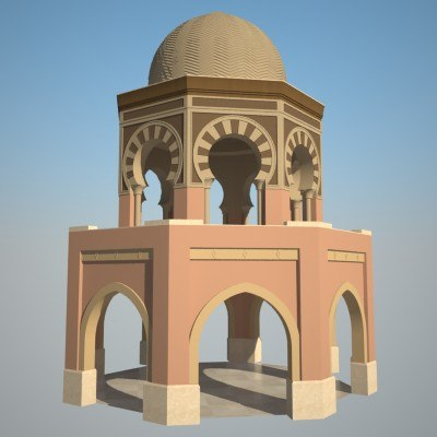 Galerry gazebo design vector